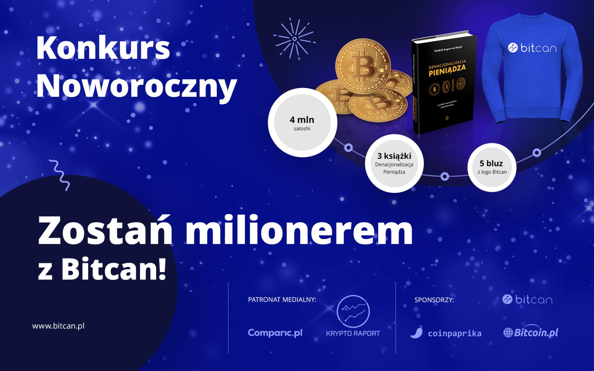 Zostań milionerem z Bitcan!