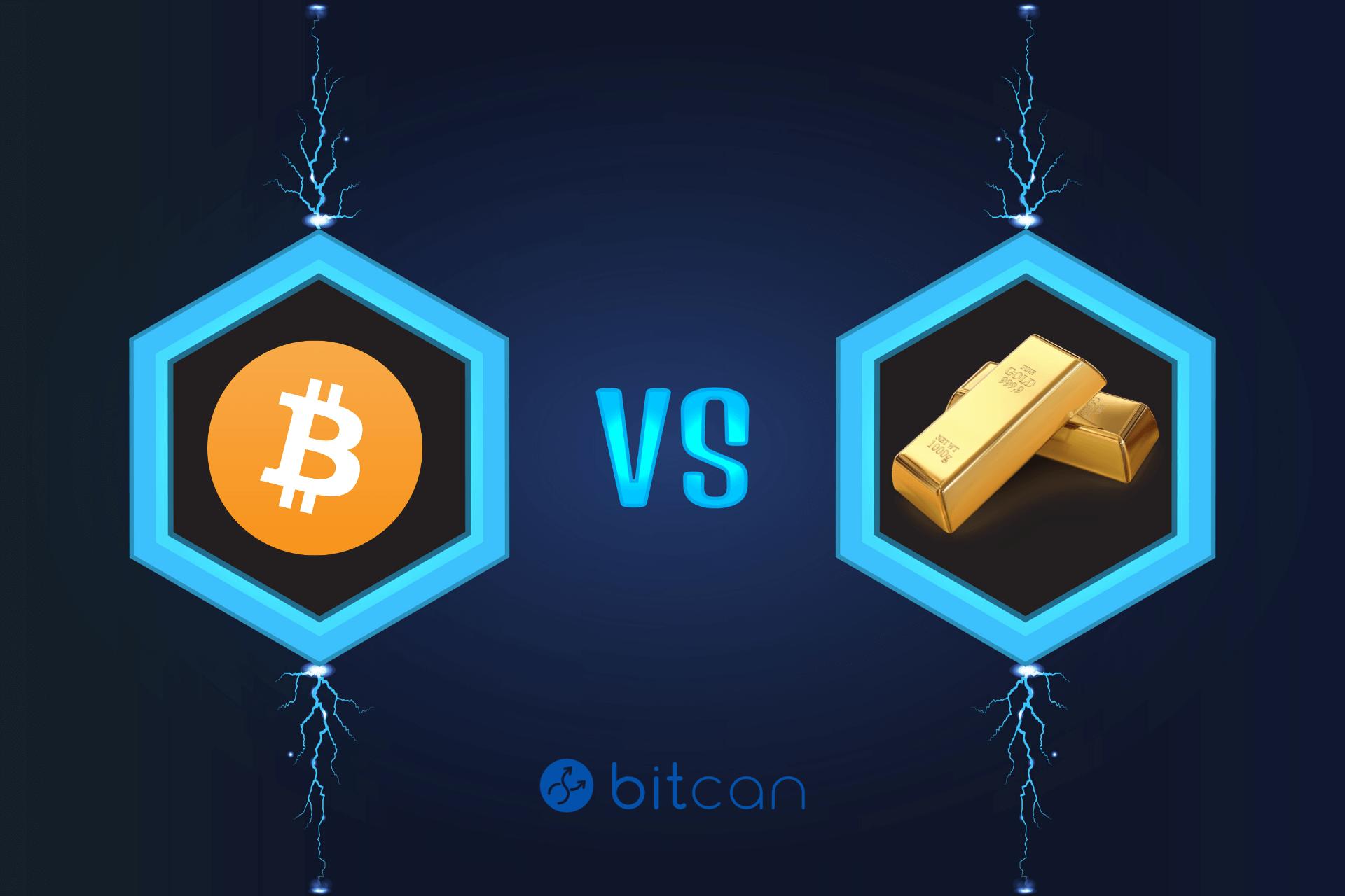 Seria VS: Bitcoin vs Złoto