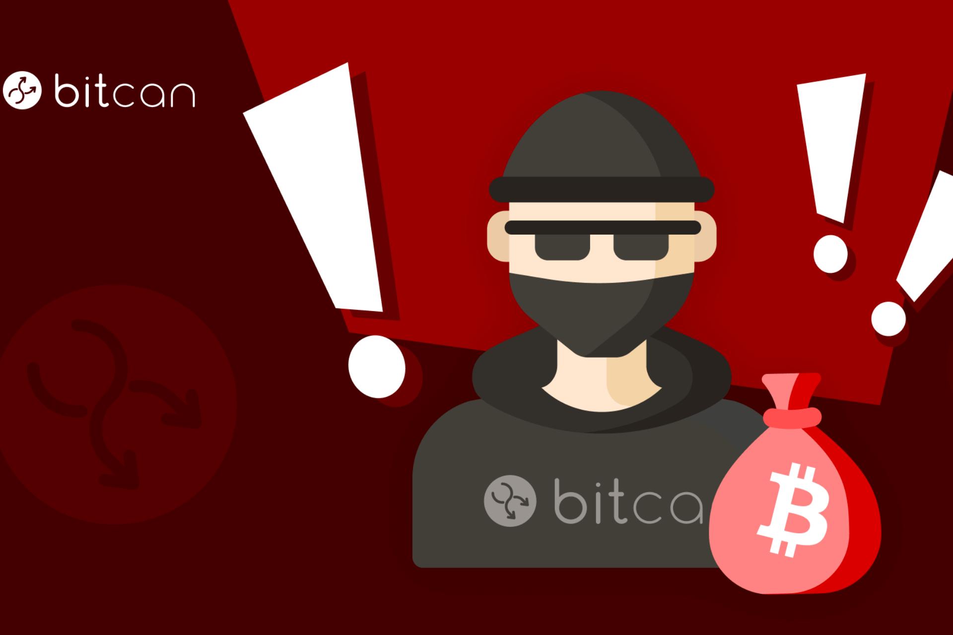 Bitcan ostrzega: Uważaj na oszustów podszywających się pod nasz kantor kryptowalutowy!