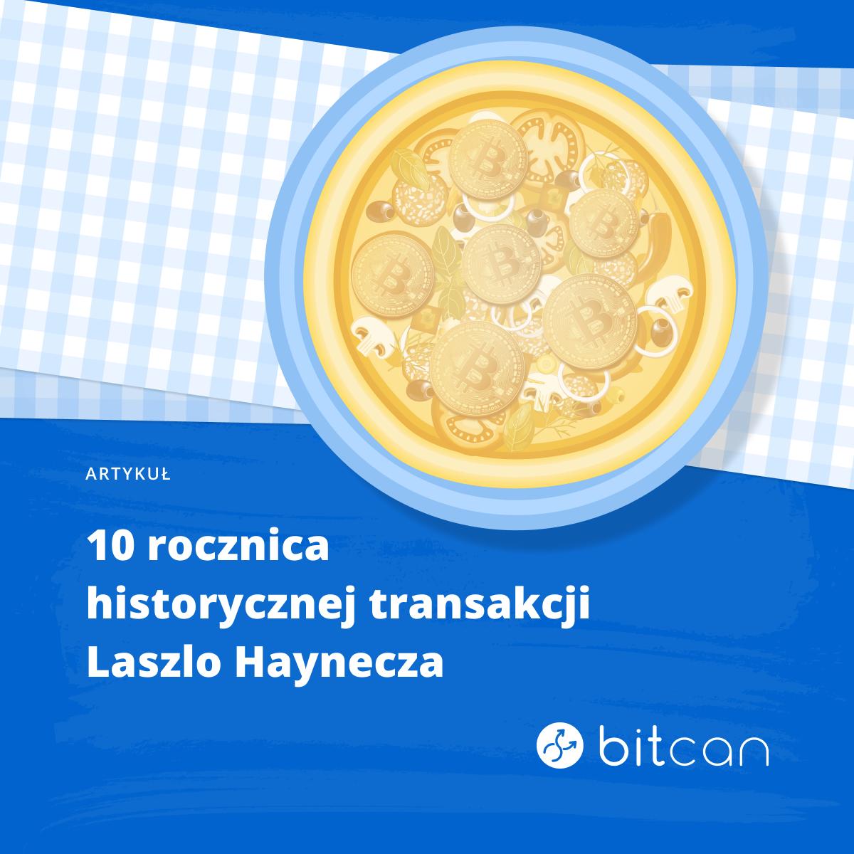 10. rocznica Pizza Day. 22 maja 2010 roku miejsce miała historyczna transakcja dla rynku Bitcoina