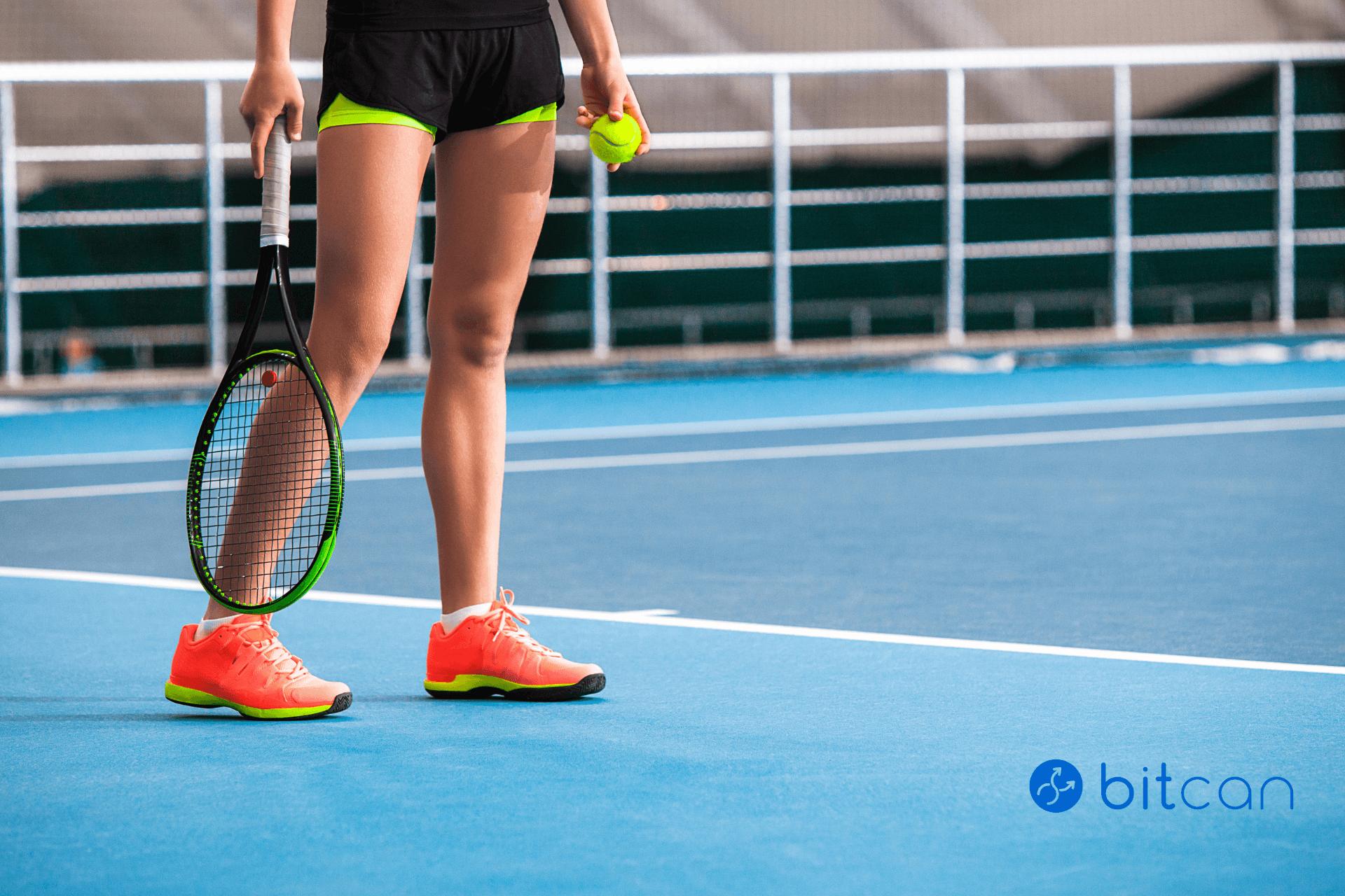Słynna tenisistka i jej coin? Caroline Wozniacki