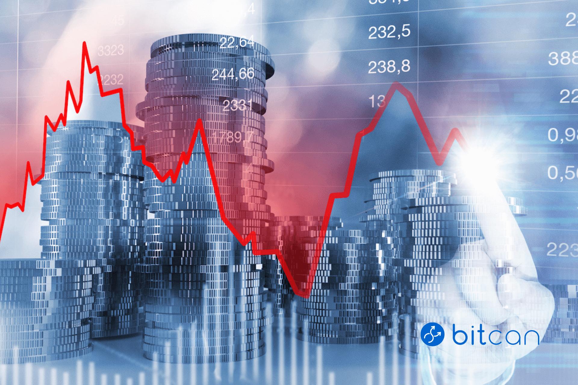 Bitcoin w styczniu z największą zmiennością w skali całego roku
