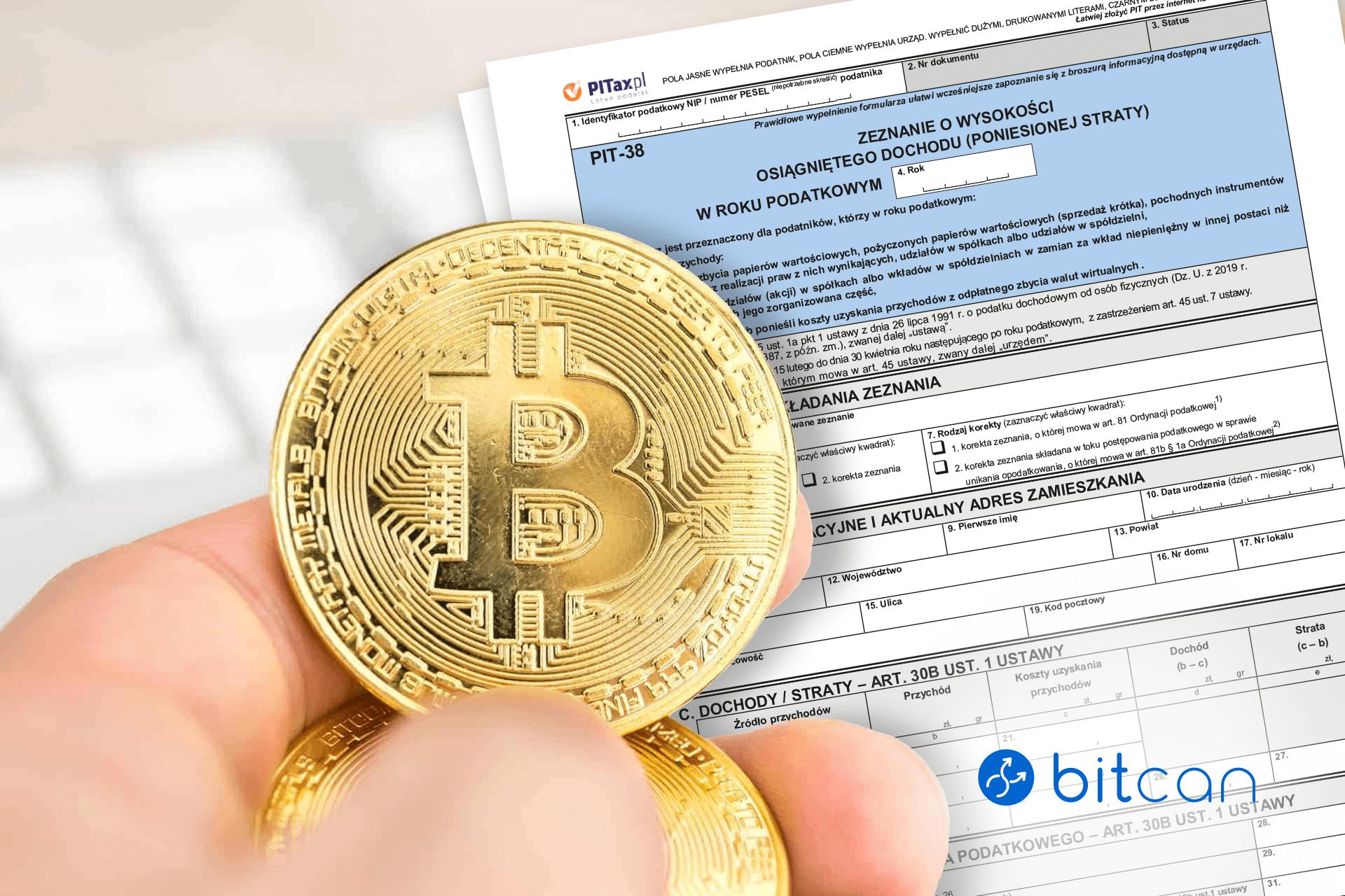 Bitcoin a podatki w 2021 roku. Dowiedz się, jak rozliczyć PIT za 2020