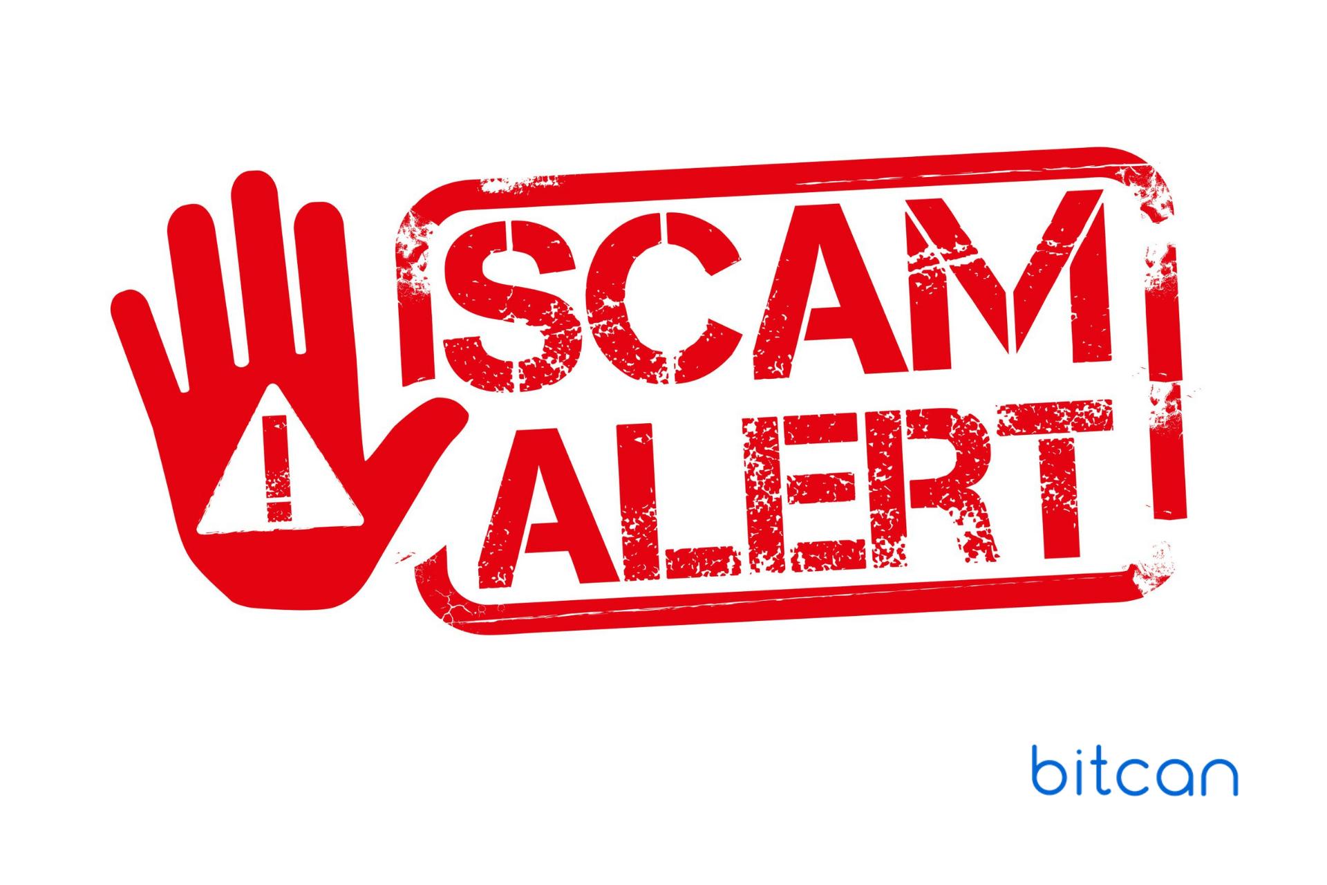 Uwaga na fałszywe maile od oszustów podszywających się pod kantor Bitcan