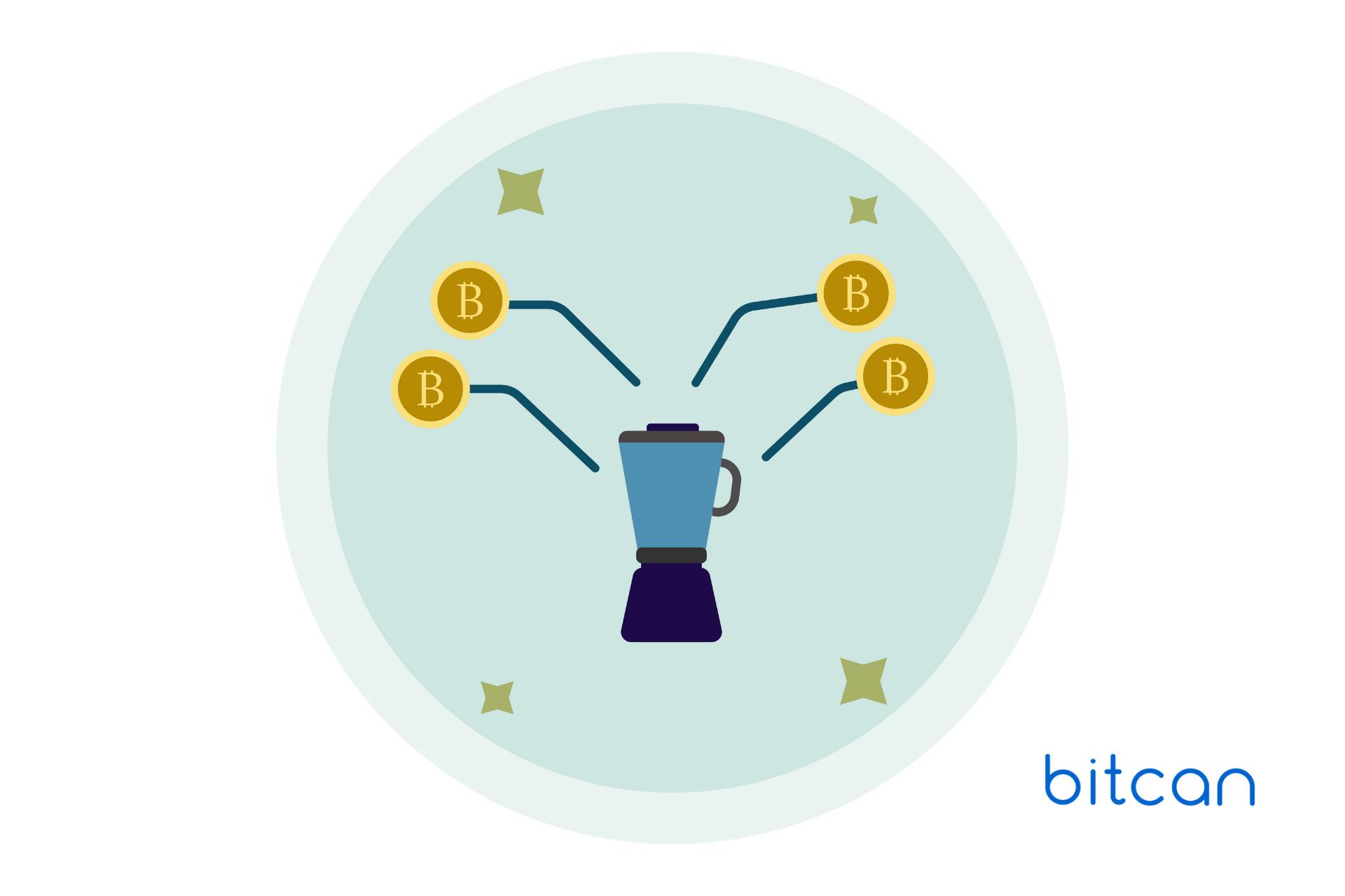 Mieszarka bitcoinów: większa anonimowość transakcji BTC