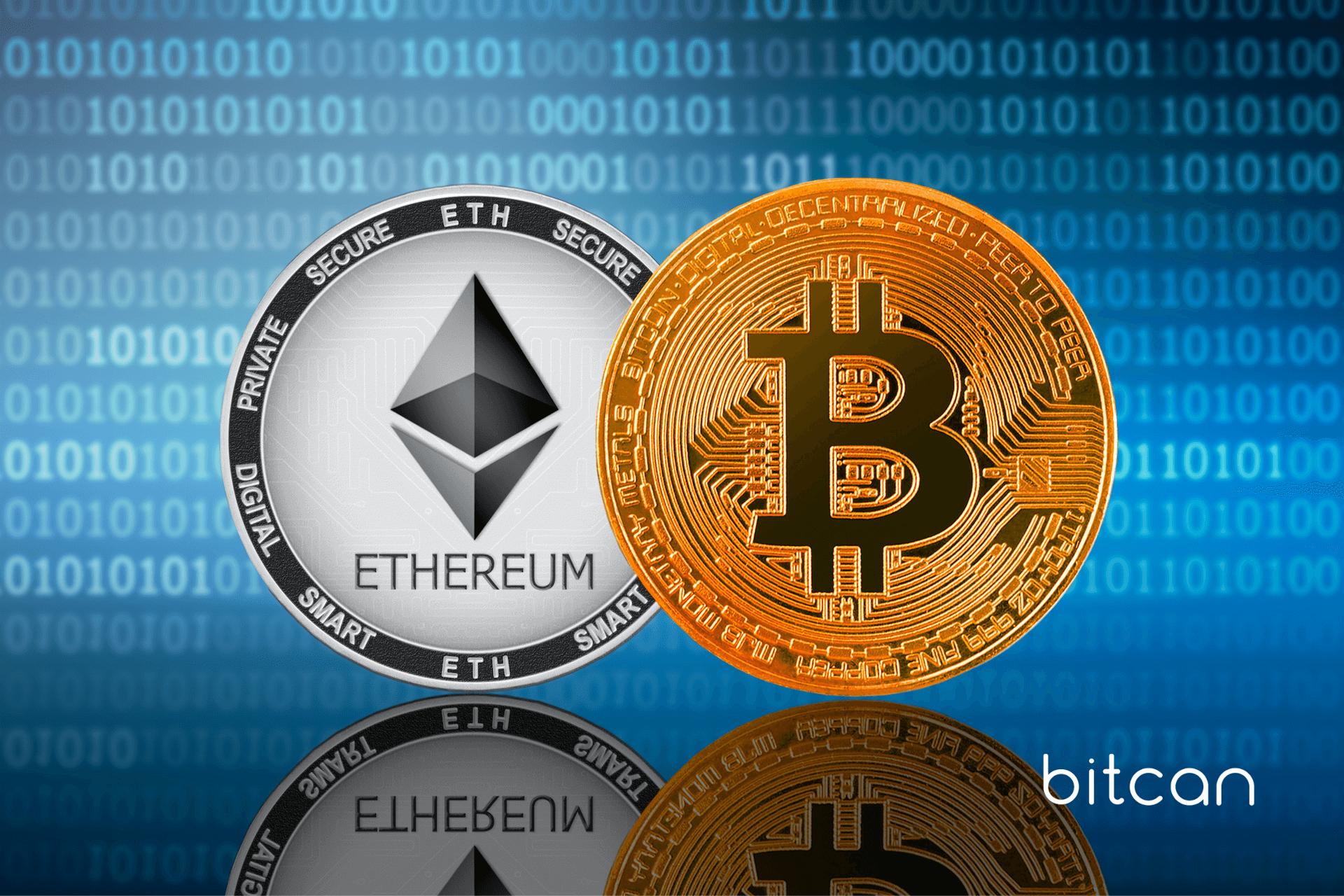 Bitcoin po 100 tys. dol. w tym roku? Ether ma wyprzedzić BTC