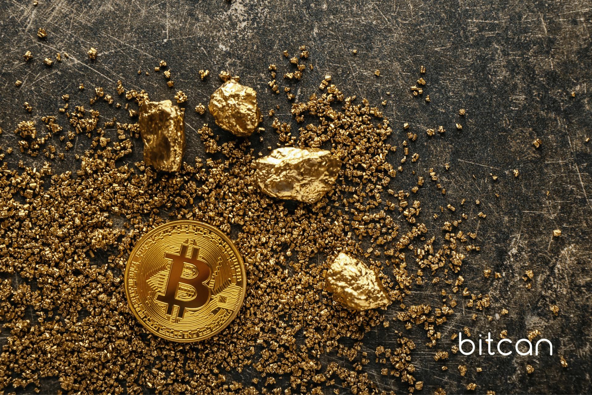 Bitcoin na jeden dzień stał się rzadszy niż złoto!