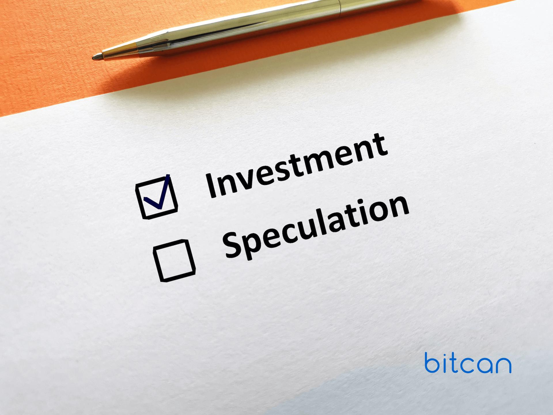 Czym się różnią inwestycje od spekulacji