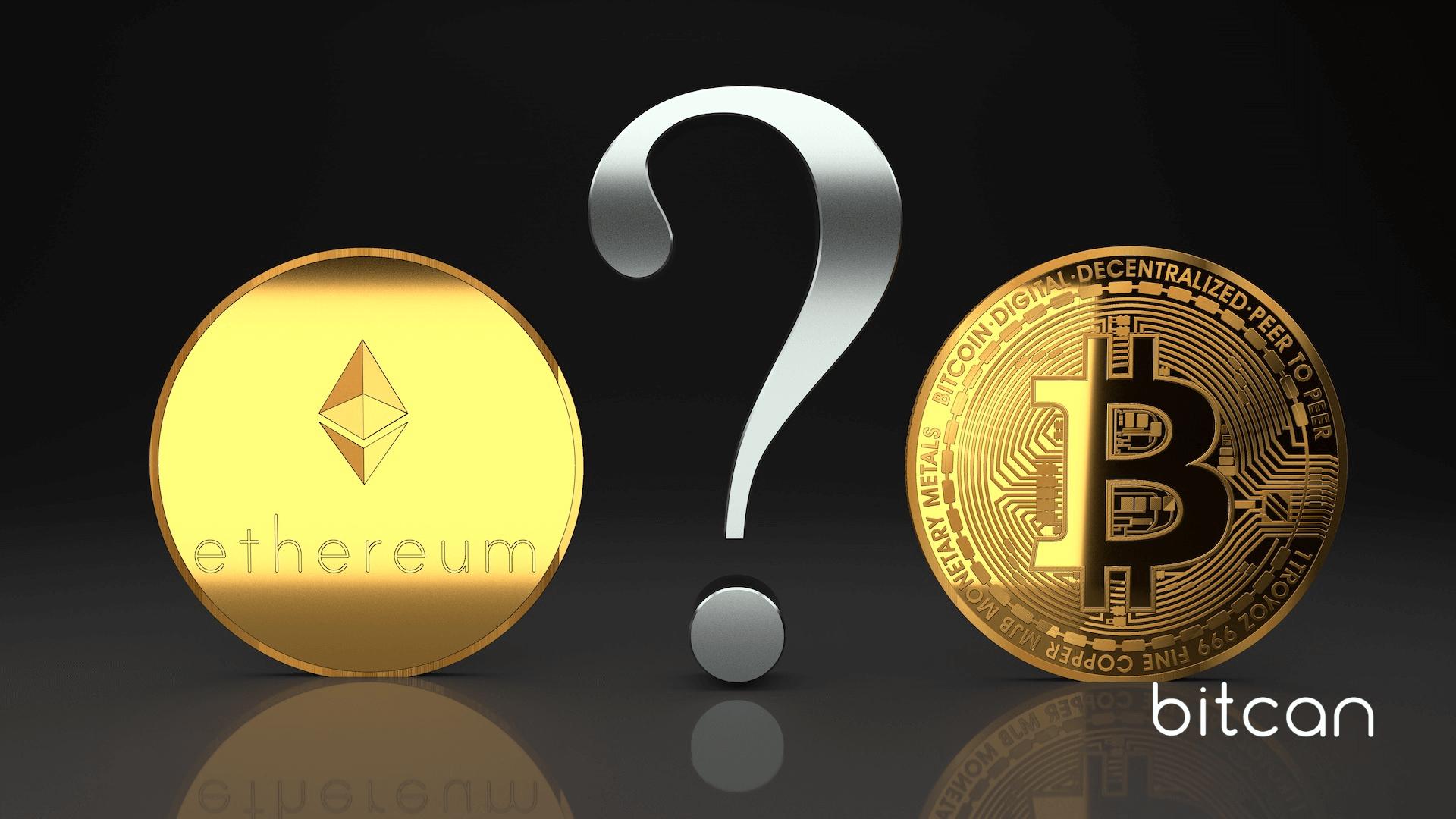 Bitcoin a Ethereum — czym różnią się oba projekty?