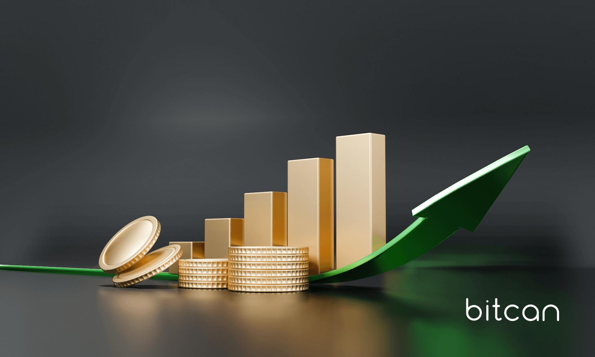 Bitcoin z rosnącą średnią wartością transakcji. Wzrost o 370%!